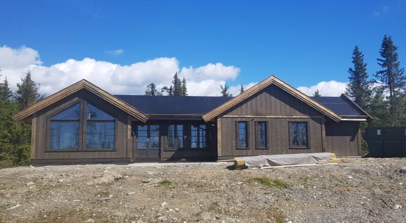 Front hytte 156
